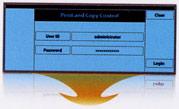 Цифровой дупликатор (ризограф) Ricoh Priport HQ 7000 - панель учета использования